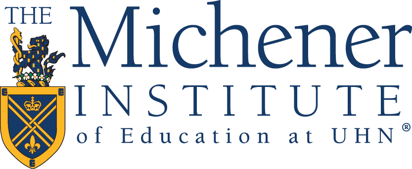 The Michener Institute of Education at UHN Logo