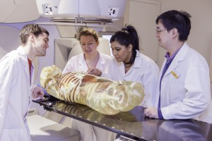 Radiation Therapy Students using Elekta