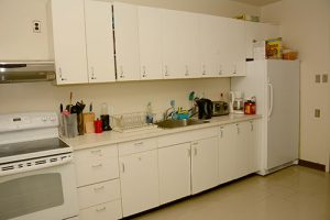 Student Residence Kitchen View