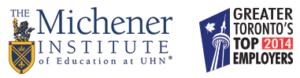Toronto's Top Employer 2014 - Michener Logo