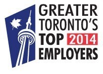 Greater Toronto 2014 Top Employer Logo