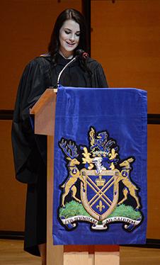2014 Valedictorian Krista Urchenko
