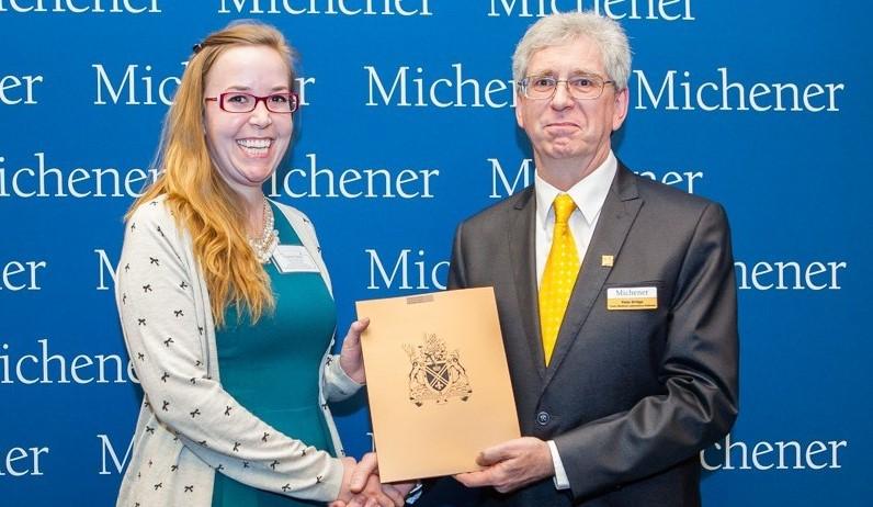 Student Awards recipient Elizabeth Pickles