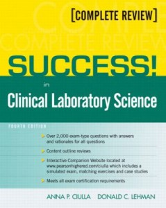 book cover - Success in Clinical Laboratory Science