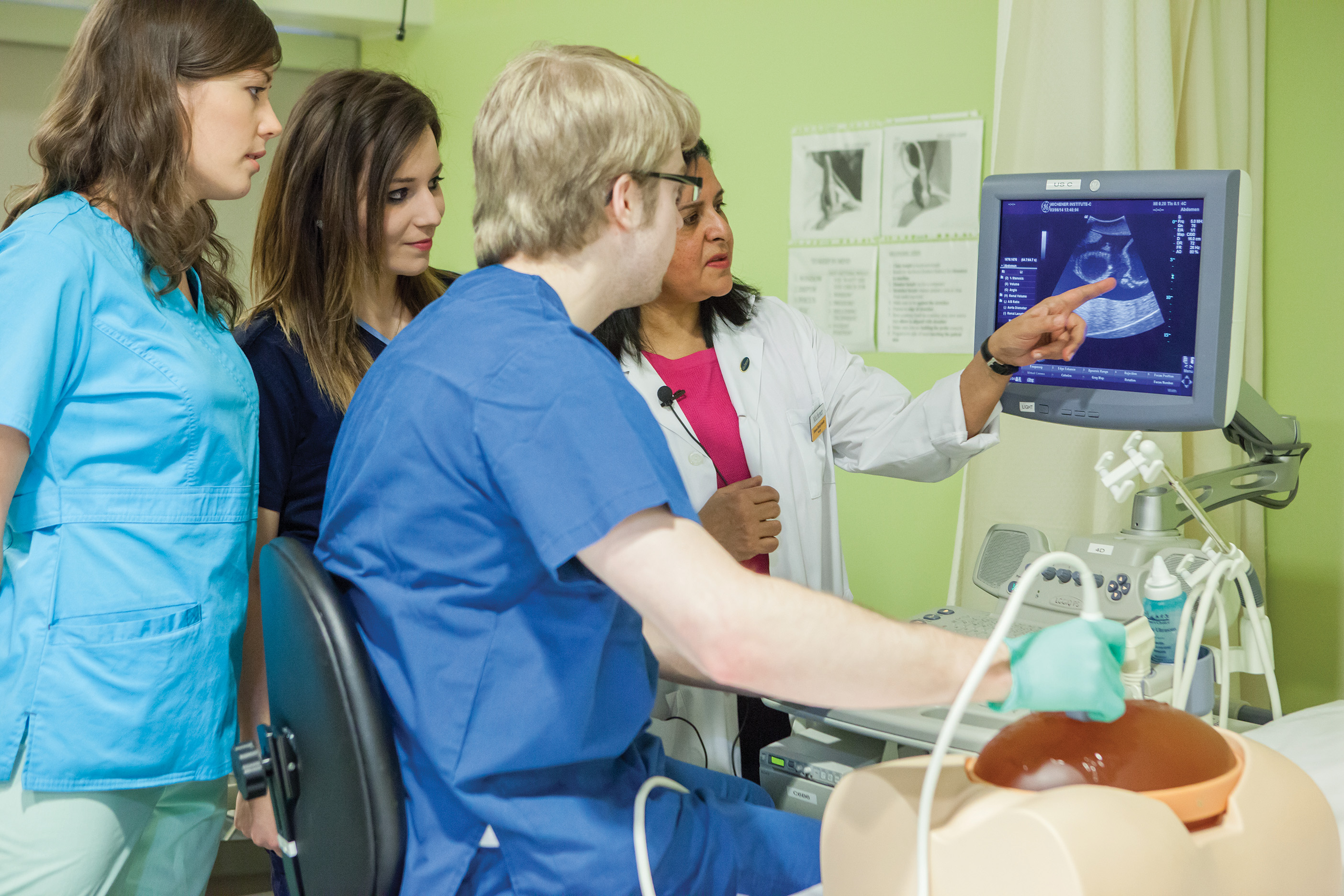 Ultrasound Program Highlights The Michener Institute
