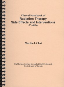 Clinical Handbook of Radiation Therapy Side Effects and Interventions, 3rd edition cover
