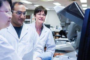 Medical Laboratory Professor Mary Emes
