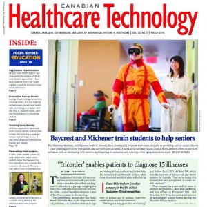 Canadian Healthcare Technology Working with Seniors Feature Article Thumbnail
