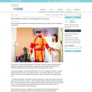 SIM One Working with Seniors Feature Article Thumbnail