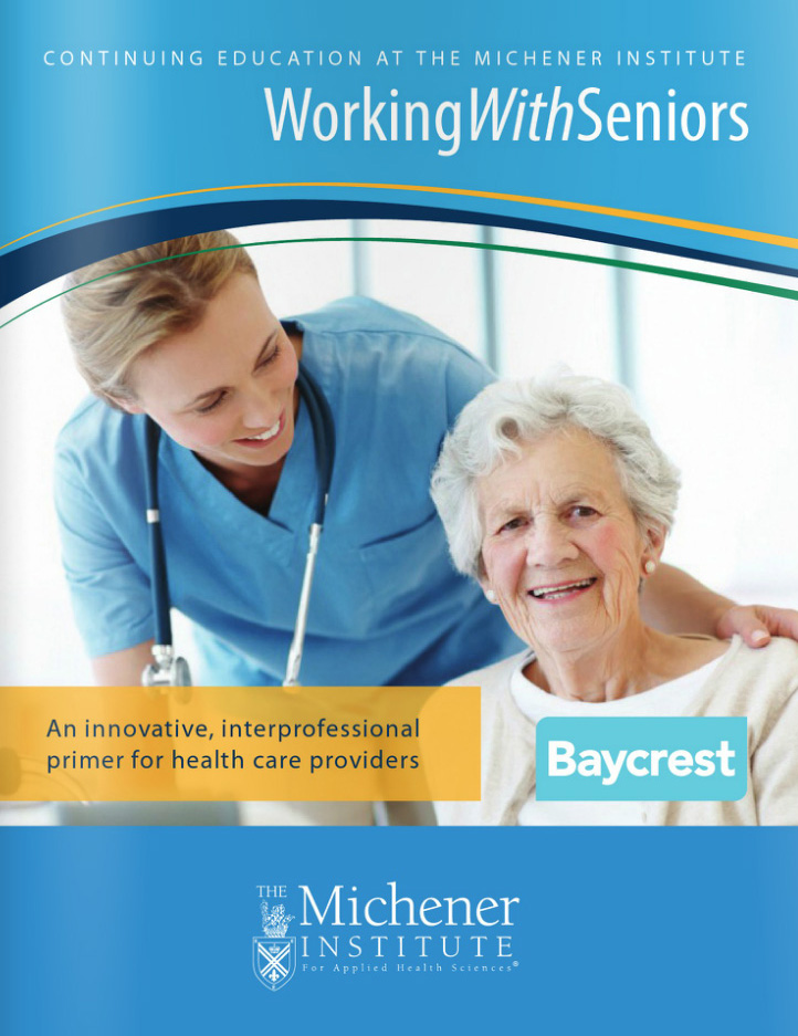 Working with Seniors brochure cover