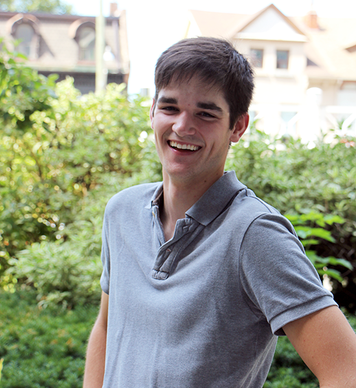 Connect to Michener - 2016 Orientation Coordinator Eric Lindsay