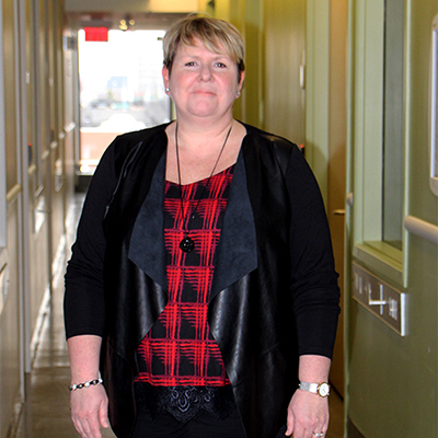 Karyn Roscoe, Manager of Student Enrolment at Michener, is responsible for the planning and execution of the full-week MMI event, which occurs every year in early spring. (Photo: UHN/Michener)