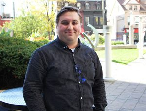 Michener Respiratory Therapy student Sam Gennidakis