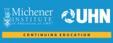 Michener, UHN and Royal College Accreditation logo