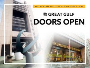 Doors Open 2018 at Michener's St. Patrick Campus
