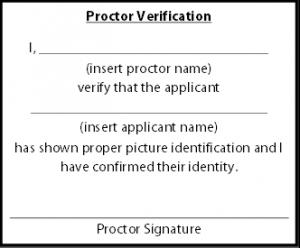 Proctor Verification