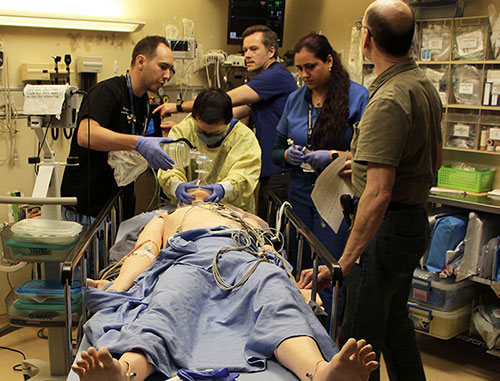 Simulation exercise in the Emergency Department