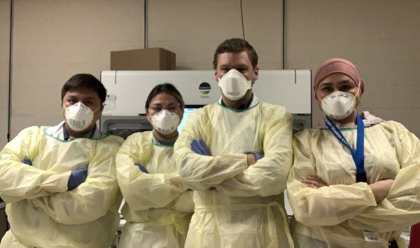 Shared Hospital Lab group shot