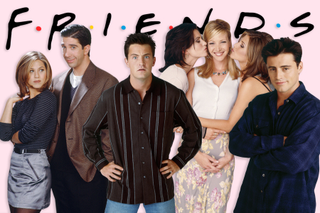 Cast of FRIENDS TV show
