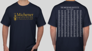 Michener Commemorative Convocation T-Shirt