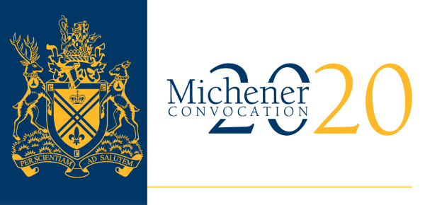 Michener Convocation Logo