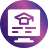virtual learning icon