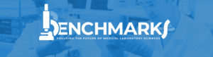 Benchmarks banner - Focusing the future of medical laboratory sciences